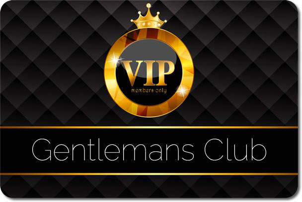 A banner image from The Gentleman's Club in Mayfair.
